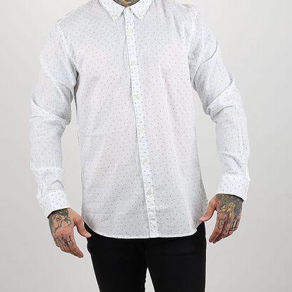 Košile Alcott JACQUARD SHIRT Bílá
