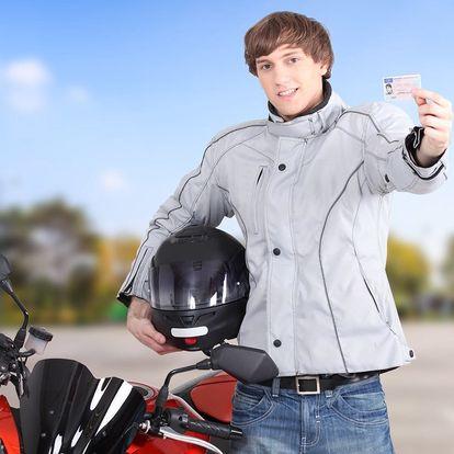 Zkroťte motocykl: řidičský průkaz sk. A, A1, A2