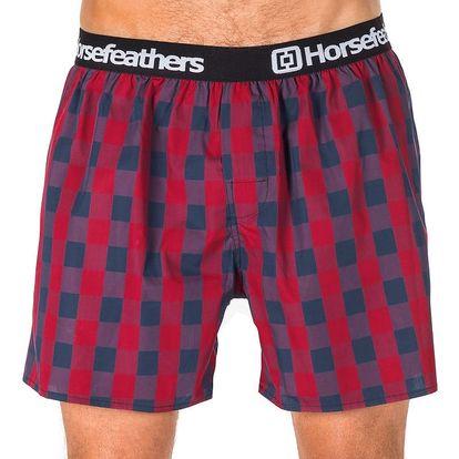 Pánské Trenky Horsefeathers Apollo Boxer Shorts Midnight Navy L