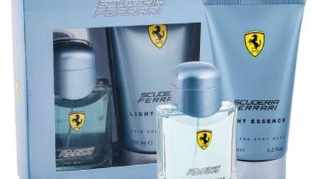 Ferrari Scuderia Ferrari Light Essence dárková kazeta pro muže toaletní voda 75 ml + sprchový gel 150 ml