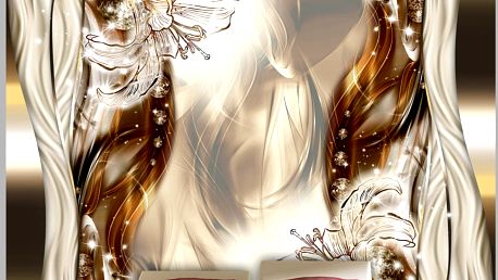 Bimago Fototapeta - Ethereal Sheen 350x245 cm
