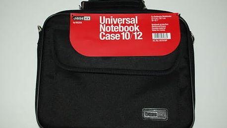 Brašna na notebook v černé či oranžovo-černé barvě