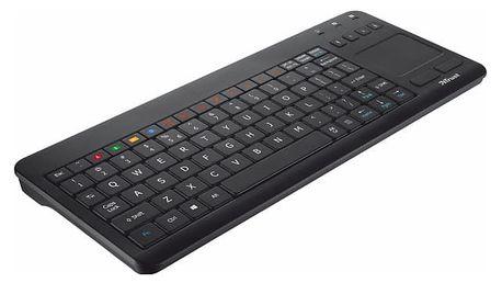 Klávesnice Trust Sento pro Samsung Smart TV, CZ/SK (20291) černá