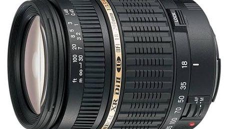 Objektiv Tamron AF 18-200mm F/3.5-6.3 Di II VC pro Nikon černý + Doprava zdarma