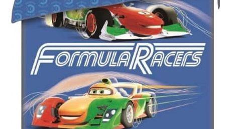 Jerry Fabrics Dětské povlečení CARS RACERS 140x200 70x90