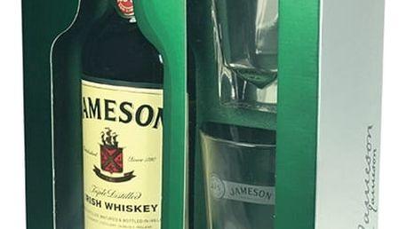 Jameson Irish Whisky 0,7l 40% + 2x sklo