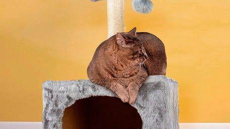 Kočičí Škrabadlo s Domečkem