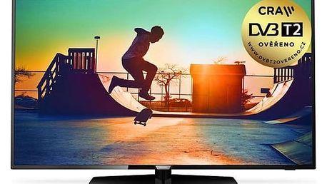 Televize Philips 65PUS6162/12 černá + DOPRAVA ZDARMA