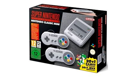 Herní konzole Nintendo Classic Mini: SNES (NICH015) + Doprava zdarma