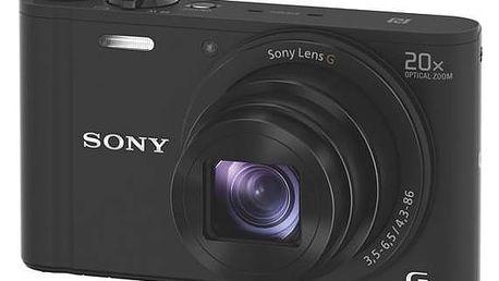 Digitální fotoaparát Sony DSC-WX350 černý + Doprava zdarma