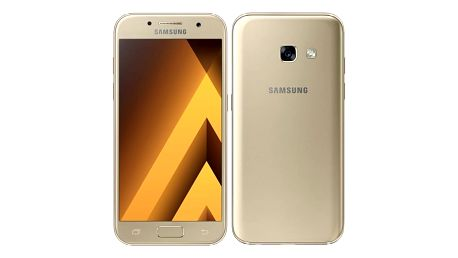 Mobilní telefon Samsung A3 (2017) (SM-A320FZDNETL) zlatý + DOPRAVA ZDARMA