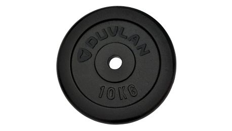 Závaží DUVLAN ocel 10kg - 270mm