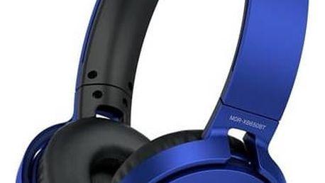 Sluchátka Sony MDR-XB650BT (MDRXB650BTL.CE7) modrá