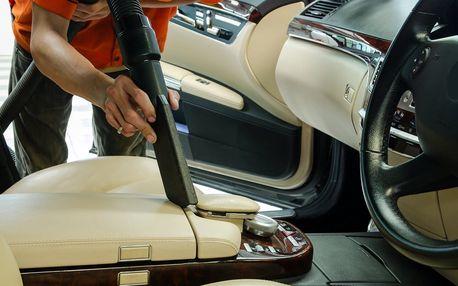 Hoďte vůz do gala: Luxování a čištění interiéru