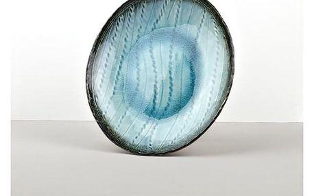 MIJ Oválný talíř Sky Blue 24 cm