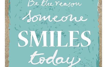 Autronic Obraz Smile Today, modrá