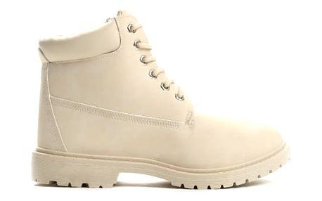 Dámské béžové kotníkové boty Petty 800