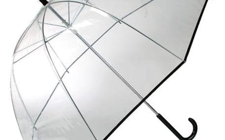 Průhledný Hluboký Holový Deštník