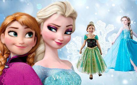 Kostým Frozen princezna Elsa nebo Anna z Ledového království