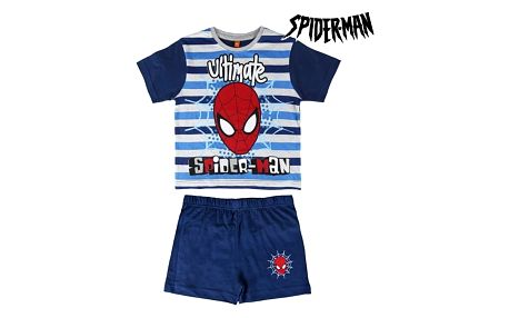 Letní Chlapecké Pyžamo Spiderman
