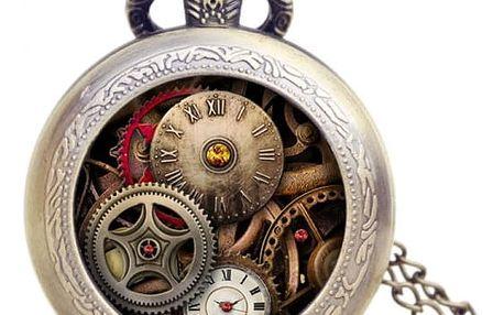 Kapesní hodinky ve starožitném designu