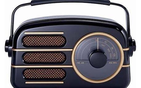 Radiopřijímač Bigben TR101 Retro (8btr101) černý
