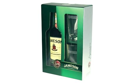 Jameson Irish Whisky 0,7l 40% + 2x sklo