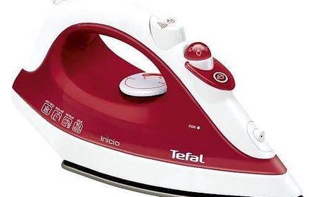 Žehlička Tefal FV1251E0 bílá/červená + Doprava zdarma