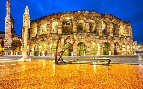 Benátky, Verona, Lago di Garda: 4denní výlet pro 1 os. + 1 noc