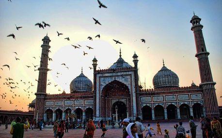 Letecký zájezd za krásami indického trojúhelníku: 7 dní s ubytováním