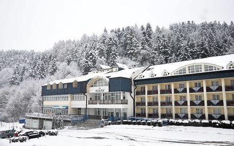 Zima ve Slovenském ráji: Hotel Plejsy ***
