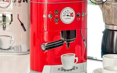 Plechová Krabice Vintage Coffee Machine
