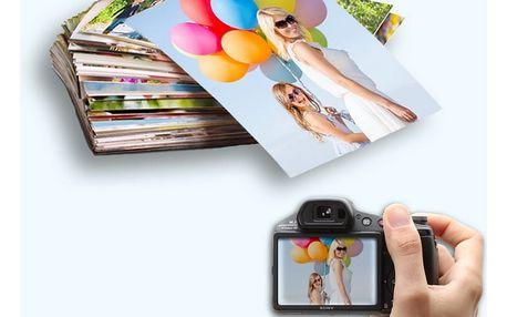 10 velkoformátových fotografií A4 nebo A3