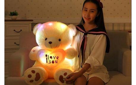 Velký plyšový medvídek se srdcem