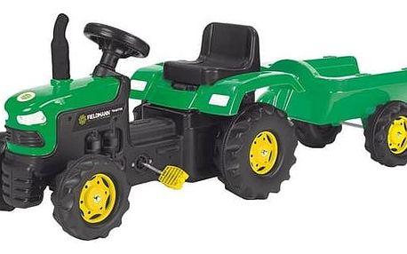 Šlapací traktor Buddy Toys BPT 1012 + Doprava zdarma