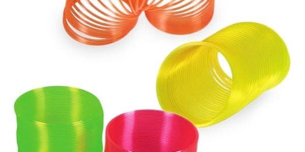 Plastová Neonová Pružina pro Děti