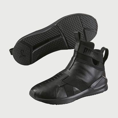 Boty Puma Fierce Strap Leather Wn S Černá