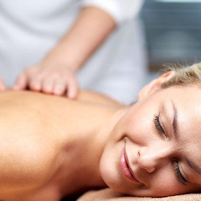 Breussova masáž páteře s masáží svalů