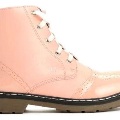 Dámské růžové kotníkové boty Baloo 3113