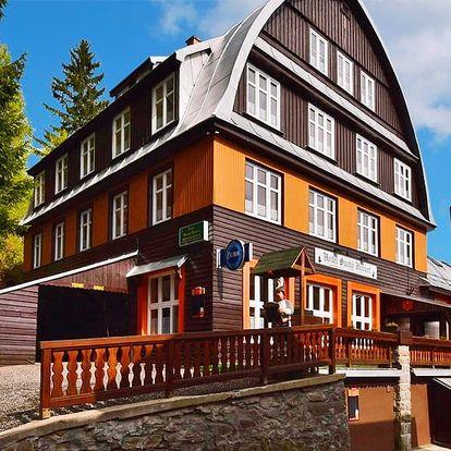 Jarní pobyt ve Špindlu s polopenzí a saunou