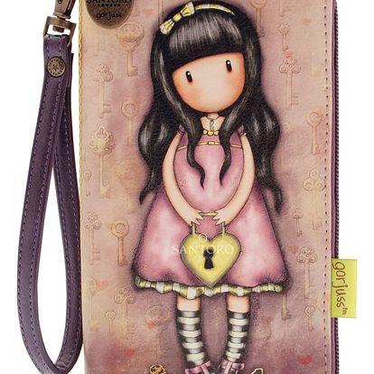 Santoro růžová peněženka Gorjuss The Secret