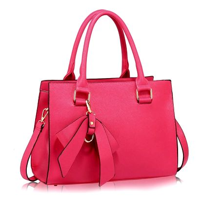 Dámská fuchsiová kabelka Eleiny 374c