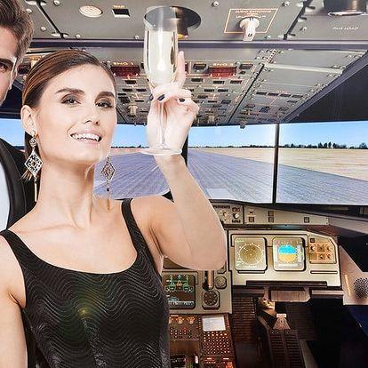 Pilotujte dopravní letadlo: simulátor pro páry