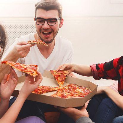 2 velké pizzy s osobním odběrem v Pizza Sprint