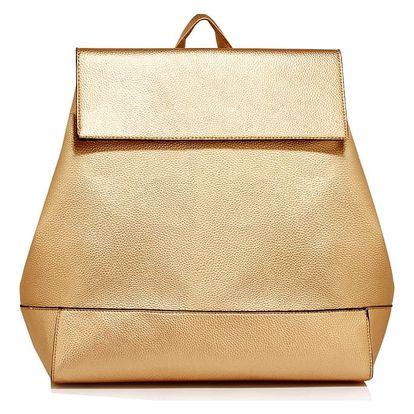 Dámský zlatý batoh Sasha 435