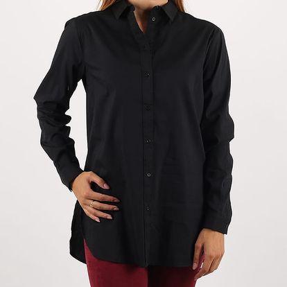 Košile Alcott SOLID COLOR OVER FITTING Černá