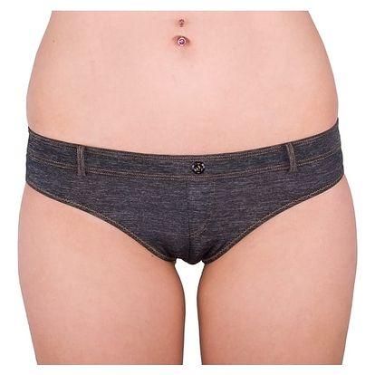 Dámské Kalhotky Diesel Bonita Underpants Black Jeans