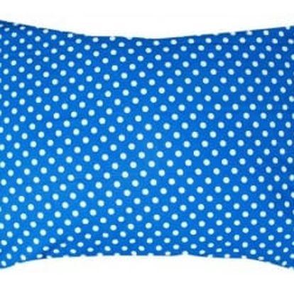 XPOSE ® Povlak na polštář MARKÉTA - modrá 70x90 cm
