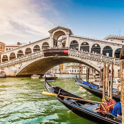 Valentýnský zájezd do Benátek a Verony se sektem do páru