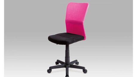 Kancelářská židle dětská KA-BORIS PINK Autronic
